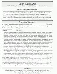 New Medical Office Manager Resume Job Description Medical