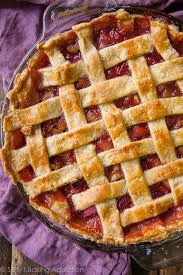 strawberry rhubarb pie sally s baking
