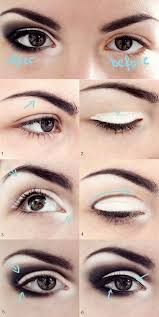 how to make your eyes look bigger smokey eye tutorial