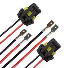 amazon com tomall h1 h3 to 9005 9006 retrofit wiring harness for tomall h1 h3 to 9005 9006 retrofit wiring harness for led headlight fog light connector socket