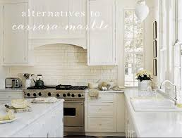 for nearly two years i ve dwelled over kitchen counters i had my heart set on carrara marble the is right i m in love with them and yet everyone