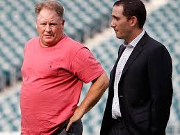 Chip Kelly and Howie Roseman
