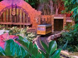 botanical gardens trains trolley leaves cincinnati union terminal model in the train show photo u s botanic garden