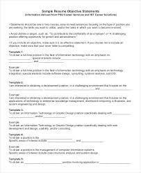 Csuf Resume Builder Generic Resume Template 3 Examples Of General