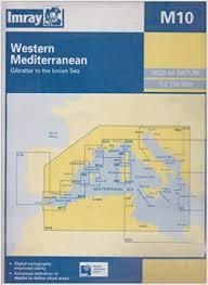 Imray Charts Mediterranean M10 Western Mediterranean Imray M Chart Imray