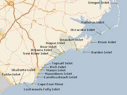 North Carolina Inlets Random Carolina Beach North