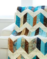 Easy Quick Quilts Patterns Quilts For Men Patterns The Man Quilt ... & ... Easiest Baby Quilt Pattern Sand And Sea Quilt Pattern Dig Into Your Pre  Cut Strips To Quick ... Adamdwight.com