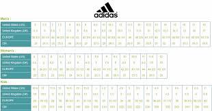 Us Size Chart Shoes Adidas Adidas Size Chart Adidas Size Chart