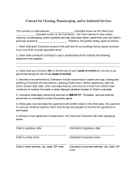 Business Service Contract Template Save Security Service Contract ...