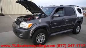 Parting Out 2005 Toyota Sequoia - Stock - 4107OR - TLS Auto Recycling