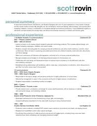 Resume Production Artist Resume Graphic Design Job Description And