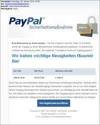 Fake Eine Mimikama Paypal Betrugsversuch Durch • E-mail