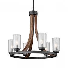 pleasing black chandelier lamp modern to amazing kichler lighting grand bank 6 light chandelier