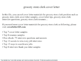 Grocery Store Clerk Resume Stunning Grocery Clerk Resume Supermarket Resume Grocery Clerk Resume Grocery