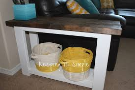 Diy sofa table Do It Yourself 15 Diy Side Table For Sectional Sofa Pro Tool Guide 43 Classy Diy Sofa Tables