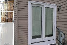 patio door blinds sliding patio doors