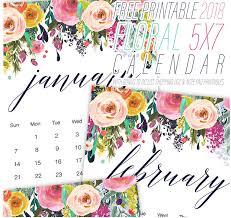 2018 Free Printable Calendars — Create Home Storage