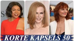 Mooi Kapsels Vrouwen 50 Jaar 2018