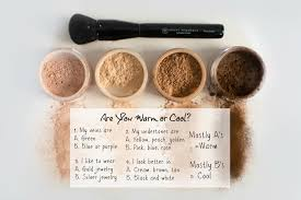 warm or cool makeup