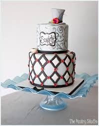 Festive Wonderland Tea Party Cake By The Pastry Studio The Pastry