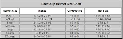 Racequip Helmet Size Chart Racequip Pro 15 Helmet Sa2015