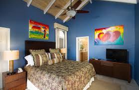 St John Villas, Caribe Villa St John USVI bedroom Caribbean colors ...