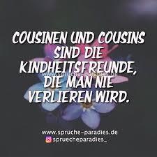 Cousinen Und Cousins Sind Die Kindheitsfreunde Die Man Nie