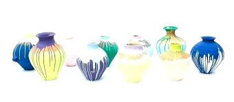 colored glass vase lovely large vases colorful tall coloured vint