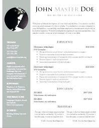 Modern Resume Templates Free Download Pdf Modern Resume Templates With Clean Elegant Designs 19