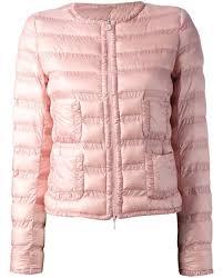 Light Pink Down Jacket Moncler Light Weight Women Down Jacket Pink