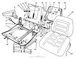 Toro professional 30756 deluxe seat groundsmaster 117 parts rh jackssmallengines suspension bridge diagram seat exeo