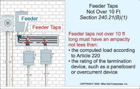 understanding the rules for feeder taps electrical construction Service Feeder Diagram With Electric Circuits understanding the rules for feeder taps electrical construction & maintenance (ec&m) magazine Electric Fence Schematic Circuit Diagram