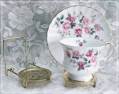 Cup And Saucer Display Stands Perfect to display tea cups and saucers in your kitchen or china 69