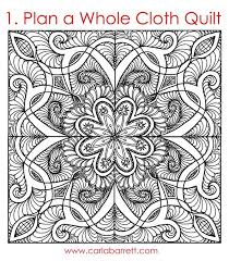 182 best Wholecloth Heaven images on Pinterest   Drawings, Eyes ... & Digital b&w quilt by Carla Barrett Adamdwight.com