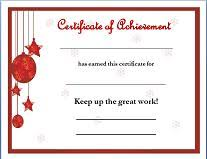 Printable Christmas Certificates Template Images Gallery Phytobellanet 71