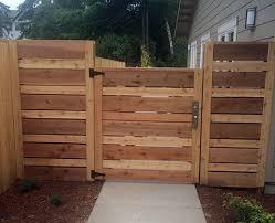 horizontal wood fence. Modren Fence Amazing Horizontal Wood Fence Gate 6 Inside