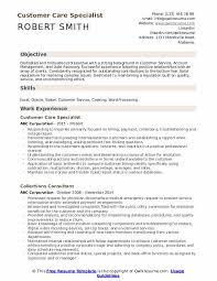 Customer Care Specialist Resume Samples Qwikresume