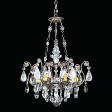 rock crystal chandelier renaissance 6 light chandeliers prisms