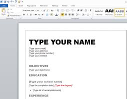 How To Create A Resume Template Custom How To Make Resume On Microsoft Word Kubreeuforicco