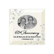 60th anniversary photo frame with easel back diamond wedding anniversary gifts anniversary photos 60th