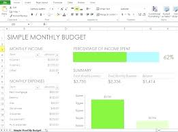 Family Budget Template Free 0 Simple Monthly Family Budget Template Free Household