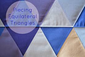 Sew Fresh Quilts: Tutorials & Piecing Equilateral Triangles tutorial ·  http://sewfreshquilts.blogspot.ca/2014/01/equilateral- Adamdwight.com