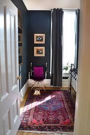 oriental rugs blue wall bedroom