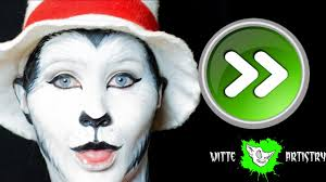 cat in the hat makeup tutorial dr seuss sd paint witte artistry