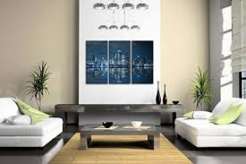 blue cool buildings chicago wall decor good modern wall decor