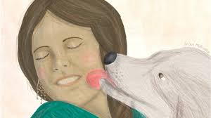 Resultado de imagen para perrito tirando beso