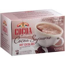 land o lakes cocoa clics supreme chocolate hot cocoa 60 single serve cups per case b360 w8375 the
