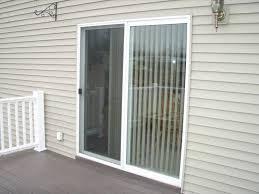 sliding glass door window treatment home office interiors