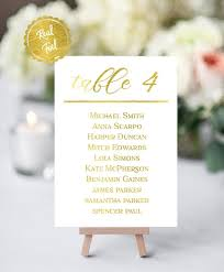 Table Number Chart Wedding Gold Wedding Table Numbers Wedding Tables Custom Table Numbers Table Numbers With Names Seating Chart Wedding Decor Gold Table Number