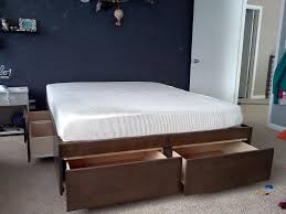 king storage bed plans. King Size Storage Bed Plans R
